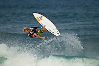 North Shore/Oahu/Hawaii (Friday, November 25, 2011) Tanner Gudauskas (USA).   – Free surfing session at Rocky Point in 3'-4' side shore trades. . Photo: joliphotos.com
