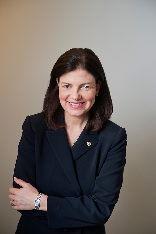 UNITED STATES - APRIL 22: Sen. Kelly Ayotte, R-N.H., is photographed in Russell Building, April 22, 2015. (Photo By Tom Williams/CQ Roll Call)