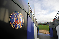 A general view of the Bath Rugby tunnel. Aviva Premiership match, between Bath Rugby and Northampton Saints on December 5, 2015 at the Recreation Ground in Bath, England. Photo by: Patrick Khachfe / Onside Images
