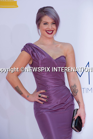 "KELLY OSBORNE - 64TH PRIME TIME EMMY AWARDS.Nokia Theatre Live, Los Angelees_23/09/2012.Mandatory Credit Photo: ©Dias/NEWSPIX INTERNATIONAL..**ALL FEES PAYABLE TO: ""NEWSPIX INTERNATIONAL""**..IMMEDIATE CONFIRMATION OF USAGE REQUIRED:.Newspix International, 31 Chinnery Hill, Bishop's Stortford, ENGLAND CM23 3PS.Tel:+441279 324672  ; Fax: +441279656877.Mobile:  07775681153.e-mail: info@newspixinternational.co.uk"