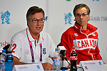 LONDON, ENGLAND 28/08/2012 -  Henry Storgaard, CEO of the CPC speaks at the Team Canada Preview Press Conference at the London 2012 Paralympic Games at The Main Press Centre. (Photo: Phillip MacCallum/Canadian Paralympic Committee)