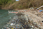 Coastal pollution.Philippines