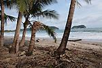 2012 August 05: On the beach in Playa Sámara, Costa Rica.