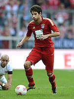 FUSSBALL   1. BUNDESLIGA  SAISON 2012/2013   3. Spieltag FC Bayern Muenchen - FSV Mainz 05     15.09.2012 Javi , Javier Martinez (FC Bayern Muenchen)