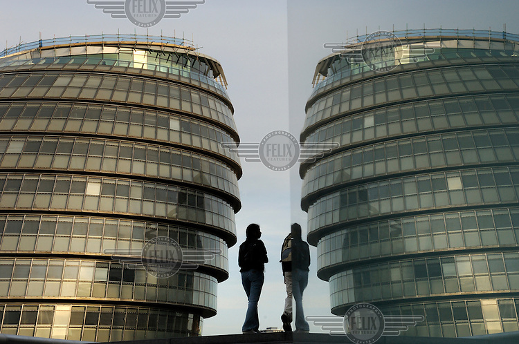 London's City Hall, home to the Mayor of London, designed by Foster & Partners.