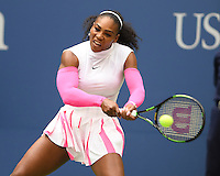 FLUSHING NY- SEPTEMBER 05: Serena Williams Vs Yaroslava Shvedova on Arthur Ashe Stadium at the USTA Billie Jean King National Tennis Center on September 5, 2016 in Flushing Queens. Credit: mpi04/MediaPunch