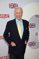 LOS ANGELES - FEB 24:  Christopher Plummer arrives at the GREAT British Film Reception at the British Consul General's Residence on February 24, 2012 in Los Angeles, CA.