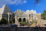 USA, Florida, Orlando. Universal Islands of Adventure Theme Park.