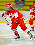 9 February 2008: Boston University Terriers' forward Laurel Koller, a Junior from St. Paul, MN, in action against the University of Vermont Catamounts at Gutterson Fieldhouse in Burlington, Vermont. The Terriers shut out the Catamounts 2-0 in the Hockey East matchup...Mandatory Photo Credit: Ed Wolfstein Photo