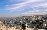Jordan, a view of Amman as seen from the Citadel Hill&amp;#xA;<br />