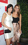 Christina Bloom and Maria Menounos in Wish dress attends the official launch of www.findyourfacemate.com which was hosted by Maria Menounos on July 10, 2012 at STK Rooftop in New York City.