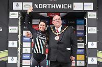 Picture by Alex Whitehead/SWpix.com 12/05/2017 -  Tour Series Round 3 Northwich - Women's Race - Matrix Fitness Grand Prix Series - Rebecca Durrell Drops