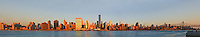 New York City, New York,  Midtown Skyline, East Side, East River, panorama