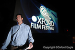 Micah Ginn at he Oxford Film Festival at the Oxford Studio Cinema, A Malco Theatre, on Thursday, February 4, 2010, in Oxford, Miss.