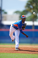 New York Mets pitcher Justin Dunn (19) during an Instructional League game against the Miami Marlins on September 29, 2016 at Port St. Lucie Training Complex in Port St. Lucie, Florida.  (Mike Janes/Four Seam Images)