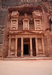 The Treasury  (Al-Khazneh) in Petra
