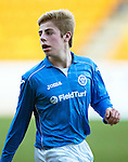 St Johnstone Academy v Manchester United Academy....17.04.15   <br /> Sean Struthers<br /> Picture by Graeme Hart.<br /> Copyright Perthshire Picture Agency<br /> Tel: 01738 623350  Mobile: 07990 594431