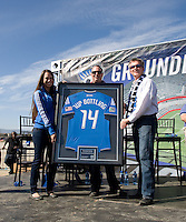 Groundbreaking Ceremony at new stadium in Santa Clara, California on October 21st, 2012.  San Jose Earthquakes broke Guinness World Record for 6,256 people break ground on Quakes' new stadium.
