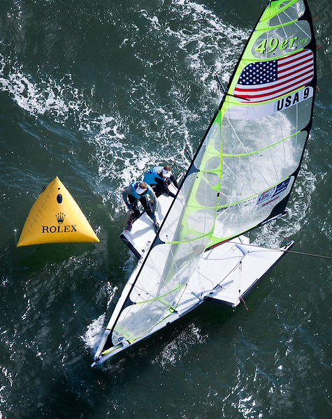 USA 9, Fleet: 49er, Crew: Erik Storck, Trevor Moore, Country: USA
