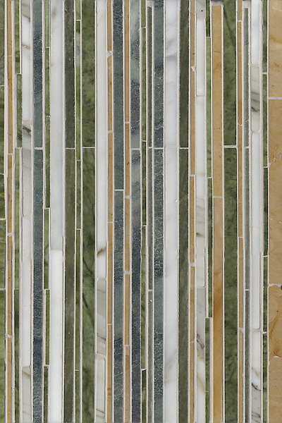 Name: Random Stripe<br /> Style: Classic<br /> Product Number: CB0740<br /> Description: Random Stripe in Chartreuse, Calacatta Tia, Renaissance Bronze, Kay's Green (p)