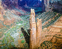 Spider Rock, Canyon De Chelly National Monument, Arizona Navajo Reservation