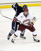 Andrew Kizito (Toronto - 24), Patrick Brown (BC - 23) - The Boston College Eagles defeated the visiting University of Toronto Varsity Blues 8-0 in an exhibition game on Sunday afternoon, October 3, 2010, at Conte Forum in Chestnut Hill, MA.
