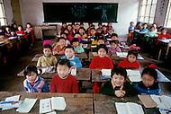 April 15th, 1989, Poyang, Jiangxi Province, China: daily life, School of May 1st.