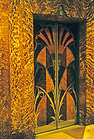 New York: Chrysler Building--Elevator Doors. Photo '78.