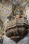 Organ, St Miguel Chapel, Old University, Coimbra, Portugal