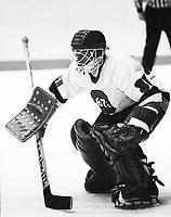 Mike Vezina Ottawa 67's 1980. Photo Scott Grant