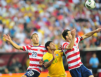 Brazil defeated USA 4-1 during a soccer friendly game at Fed Ex Field in Landover, Maryland on Wednesday, May 30, 2012.  Alan P. Santos/DC Sports Box