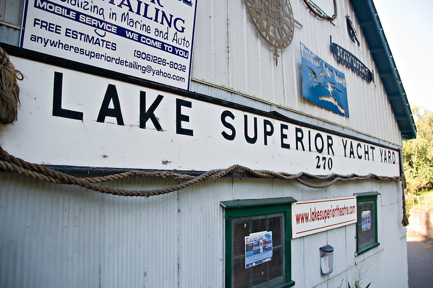 Lake Superior Theatre building in Marquette Michigan.