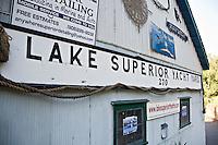 Lake Superior Theatre building in Marquette Michigan.
