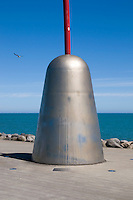Len Lye, Wind Wand New Plymouth 2008. New Zealand Fine Art Print.