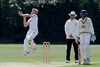 Callum Taylor in bowling action during Essex CCC 2nd XI vs Surrey CCC 2nd XI, Second XI Championship Cricket at Billericay Cricket Club on 16th May 2017