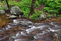 Hughes river next to Old Rag mountain in Madison County, VA. .