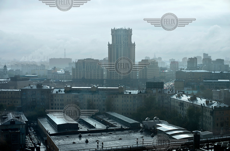 A view over Moscow.