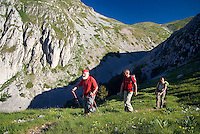 Barrea, Abruzzo, Italy, June 2008. Pasetta, owner of camping La Genziana, is the grandson of the last wolf hunter of the Abruzzo mountains. Nowadays the wolfs are protected by the national parks. Photo by Frits Meyst/Adventure4ever.com