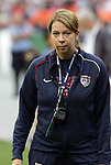 10 May 2008: United States fitness coach Helena Andersson (SWE). The United States Women's National Team defeated the Canada Women's National Team 6-0 at RFK Stadium in Washington, DC in a women's international friendly soccer match.