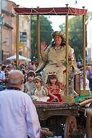 Castelfranco Emilia, Festa di San Nicola - Sagra del Tortellino (Tortellini Festival).<br /> Giovanna Guidetti, Dama 2012.