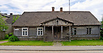 Stary dom w Tykocinie, Polska<br /> Old house in Tykocin, Poland