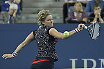 Kim Clijsters from Belgium  plays during the 2012 U.S. Open in New York, United States. 28/08/2012. Photo by Kena Betancur/VIEWpress.