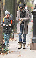 Sarah Jessica Parker and James Wilkie Broderick Seen in NY