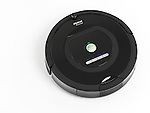 iRobot Roomba 770 household vacuum cleaning robot isolated on white background