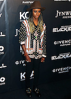 NEW YORK CITY, NY, USA - OCTOBER 30: Angel Haze arrives at the 11th Annual Keep A Child Alive Black Ball held at the Hammerstein Ballroom on October 30, 2014 in New York City, New York, United States. (Photo by Celebrity Monitor)