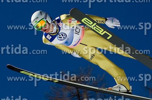 Peter Prevc of Slovenia competes during Flying Hill Individual at 4th day of FIS Ski Jumping World Cup Finals Planica 2011, on March 20, 2011, Planica, Slovenia. (Photo by Vid Ponikvar / Sportida)