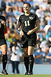 27 September 2009: Wake Forest's Allie Sadow. The University of North Carolina Tar Heels defeated the Wake Forest University Demon Deacons 4-0 at Fetzer Field in Chapel Hill, North Carolina in an NCAA Division I Women's college soccer game.