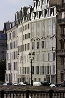 Parisian buildings, Ile de la Cité, Paris, France Picture by Manuel Cohen