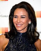 Giselle Fern&aacute;ndez arrives for the formal Artist's Dinner honoring the recipients of the 39th Annual Kennedy Center Honors hosted by United States Secretary of State John F. Kerry at the U.S. Department of State in Washington, D.C. on Saturday, December 3, 2016. The 2016 honorees are: Argentine pianist Martha Argerich; rock band the Eagles; screen and stage actor Al Pacino; gospel and blues singer Mavis Staples; and musician James Taylor.<br /> Credit: Ron Sachs / Pool via CNP