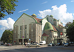 Building of Theatre Draamateater in Tallinn, Estonia